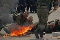 День Тульской дивизии ВДВ: на площади Ленина приземлились парашютисты, Фото: 80