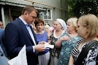 В Щёкино Алексей Дюмин поручил отремонтировать  подъезд дома на Ясенковском проезде, Фото: 16
