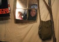 Школьники в лагере ОМОНа, Фото: 7
