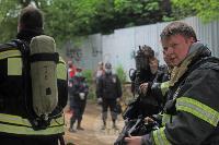 В Туле сотрудники МЧС эвакуировали госпитали госпиталь для больных коронавирусом, Фото: 54