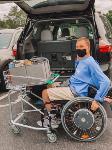 Корзина для покупок, которая объединяется с инвалидным креслом, Фото: 10