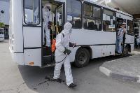 Тульские спасатели продезинфицировали автовокзал «Восточный», Фото: 22