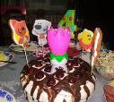 Тортик для дочки на день рождение!