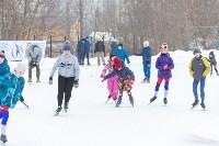 В Туле прошли массовые конькобежные соревнования «Лед надежды нашей — 2020», Фото: 15