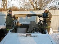 В Щекино спасатели ликвидировали последствия условного ДТП, Фото: 4