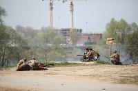 Реконструкция боевых действий. Центральный парк. 9 мая 2015 года, Фото: 32