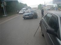 На Новомосковском шоссе столкнулись три автомобиля, Фото: 11