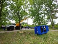 В Туле меняют аварийный участок трубы, из-за которого отключали воду в Пролетарском округе, Фото: 6