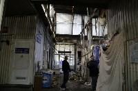 """На ул.9 Мая сгорел рынок """"Салют"""", Фото: 32"""