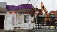 Снос незаконных павильонов в Заречье, Фото: 36