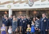 Церемония крепления Боевого знамени к древку, Фото: 3