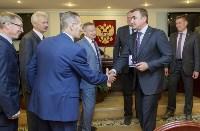 Алексей Дюмин получил знак и удостоверение губернатора Тульской области, Фото: 3
