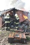 На Калужском шоссе загорелся жилой дом, Фото: 12