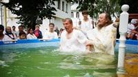 Крещение жителей Новомосковска, Фото: 9