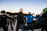 Физкультминутка на площади Ленина. 27.12.2014, Фото: 40