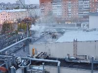 К ресторану «Башня» на Красноармейском проспекте в Туле прибыли пожарные расчеты, Фото: 6