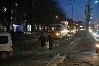 Столкнулись автобус и трамвай. 17 февраля 2016 года, Фото: 9