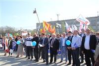 Тульская Федерация профсоюзов провела митинг и первомайское шествие. 1.05.2014, Фото: 86