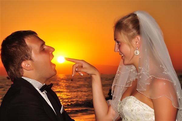 Незабываемая свадьба на море)))
