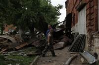 Последствия урагана в Ефремове., Фото: 11