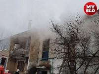 В Барсуках в двухэтажном доме загорелась квартира, Фото: 3