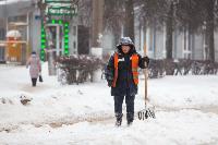 Последствия снежного циклона в Туле, Фото: 9