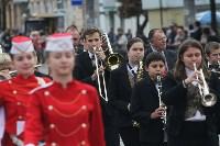 По праздничной Туле прошли духовые оркестры, Фото: 12