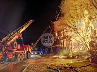 Крупный ночной пожар в Туле, Фото: 12
