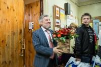 Александр Балберов поздравил выпускников тульской школы, Фото: 4