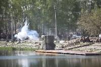Реконструкция боевых действий. Центральный парк. 9 мая 2015 года, Фото: 56