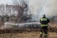 В Белевском районе провели учения по тушению лесных пожаров, Фото: 7