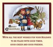 Старинные рождественские открытки, Фото: 24