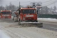 Расчистка тульских улиц коммунальными службами, Фото: 5