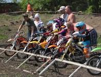 Юные мотоциклисты соревновались в мотокроссе в Новомосковске, Фото: 88