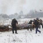 Тульские огнеборцы ликвидировали условное  возгорание в селе Прудное, Фото: 12