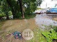 Дворы на Красноармейском проспекте затопило нечистотами, Фото: 7