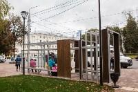 Остановочный павильон возле сквера Студенченский, Фото: 3