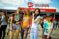 В Туле прошел фестиваль красок и летнего настроения, Фото: 104