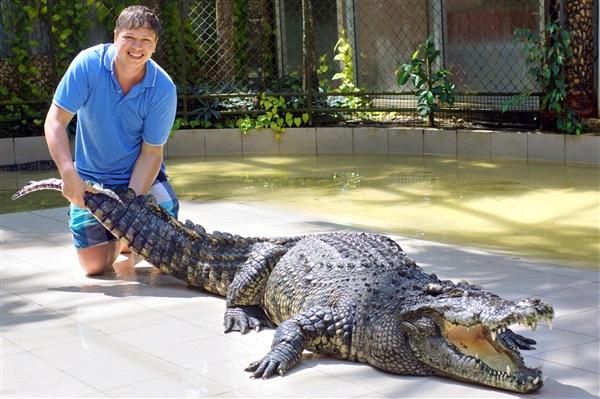 """""""Крокодила на скаку остановит, в горящее бунгало войдет!""""На фото: Сергей Петров"""