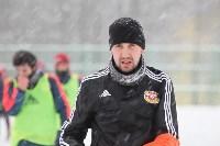 «Арсенал» готовится на снежном поле к игре против «Тосно», Фото: 32