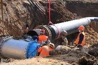 Как ведется монтаж водовода, питающего водой Пролетарский округ Тулы. Фото, Фото: 27