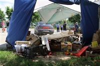В Туле легковушка протаранила торговую палатку, Фото: 12