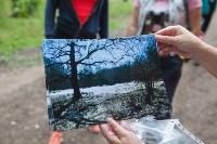 На экотропе «Малиновая засека» прошел Всероссийский субботник, Фото: 39