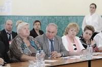 В Донском Алексей Дюмин вручил школе искусств сертификат на покупку домры, Фото: 6