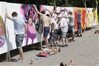 Молодые туляки попытали свои силы на конкурсе граффити, Фото: 16