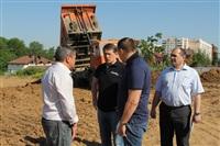 На Зеленстрое-2 начали строительство нового детского сада, Фото: 2