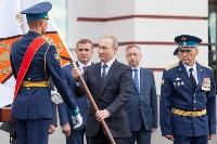 Путин в Суворовском училище, Фото: 53
