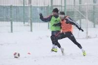 «Арсенал» готовится на снежном поле к игре против «Тосно», Фото: 29