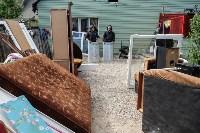 Плеханово, итоги дня: В таборе принудительно снесли первые 10 домов, Фото: 9