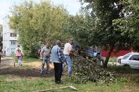 «Экопатруль» благоустроил в Киреевске двор, Фото: 15